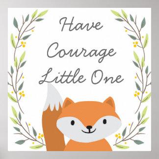 Haben Sie Mut - Kinderzimmer-Dekor Poster