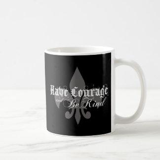 Haben Sie Mut u. seien Sie nettes - Lilie - lt Kaffeetasse