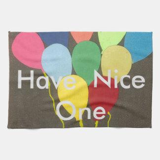 Haben Sie Nizza; Geburtstag schaffen Ihre Selbst Küchentuch