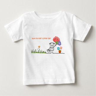 Haben Sie sich ein großer Tagesbaby-T - Shirt/eine Baby T-shirt