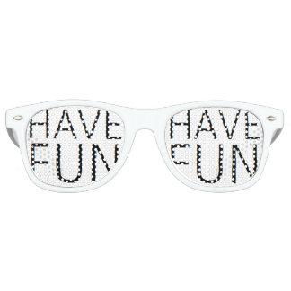 haben Sie Spaß-Sonnenbrille Retro Sonnenbrillen