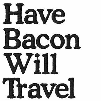 Haben Sie Speck reist Typografie