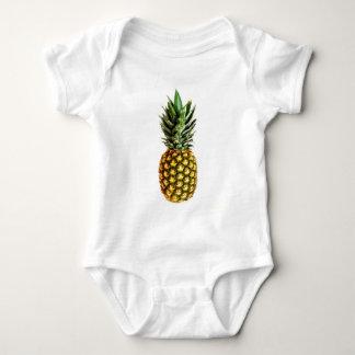 Habillement de bébé d'impression d'ananas t-shirt
