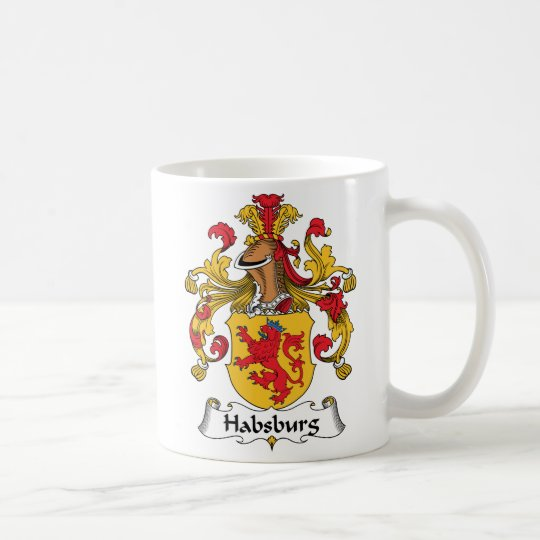 Habsburger-Familienwappen Kaffeetasse