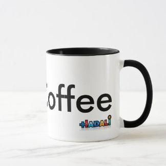 Hadali spielt - i-Liebe-Kaffee - Tasse