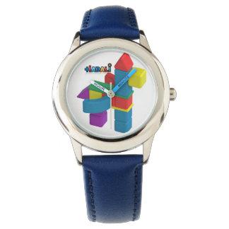 Hadali Spielwaren - der Edelstahl-Uhr des Kindes Armbanduhr