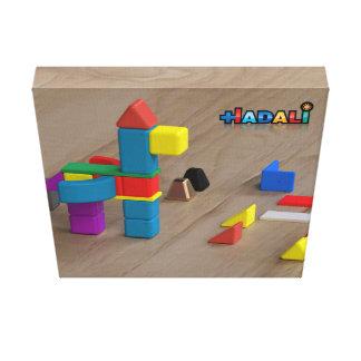 Hadali Spielwaren - Pegasus auf Leinwand