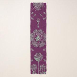 Haeckels lila schal