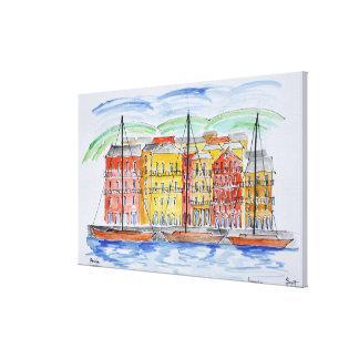 Hafen, Bastia | Korsika, Frankreich Leinwanddruck