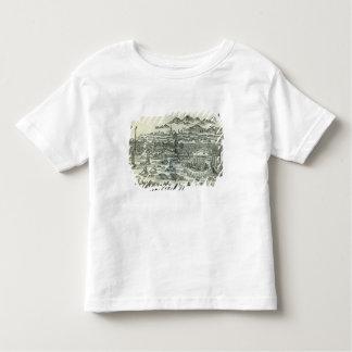 Hafen der Stadt des Bezirks Kleinkinder T-shirt