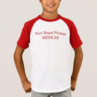 Hafen-königliche Piraten-Kinder T-Shirt