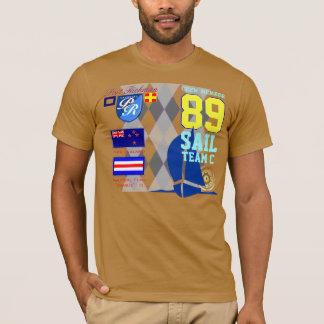 Hafen Neuseelands Yachting Richman MarineRaute T-Shirt