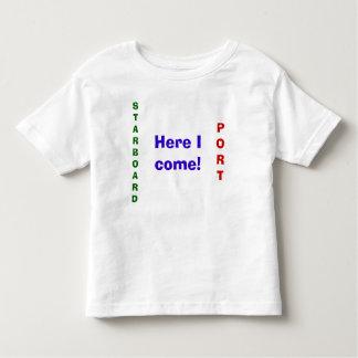 HAFEN, STEUERBORD, komme ich her! - Besonders Kleinkinder T-shirt