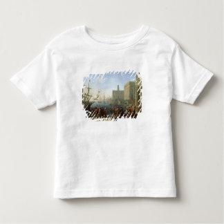 Hafen-Szene Kleinkinder T-shirt