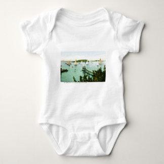 Hafen-und Yacht-Verein, Bar-Hafen, Maine Baby Strampler