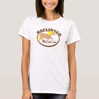 Haflinger, klein aber oho! T-Shirt
