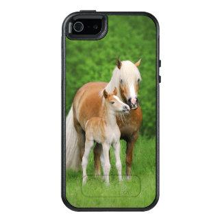 Haflinger Pferdeschützen sich niedliche OtterBox iPhone 5/5s/SE Hülle