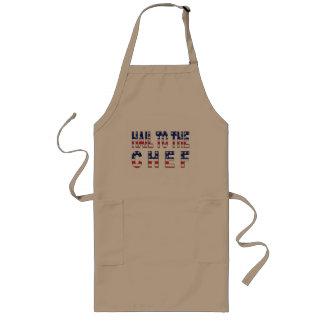 Hagel zur Koch-Lustigen grillenden Schürze