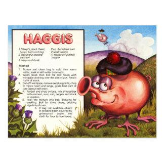 Haggis Rezept Postkarte