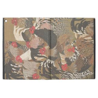 Hahn-Jahr 2017 IPAD Malerei der Hähne japanisches