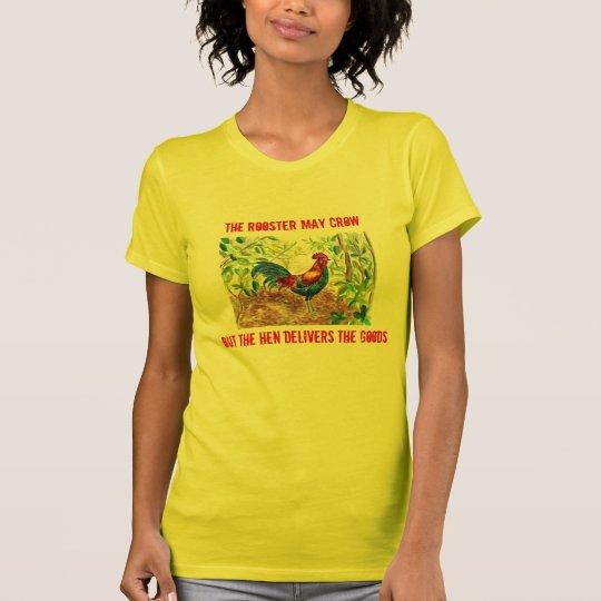 Hahn- und Henne-Shirt für sie T-Shirt