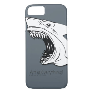 Haifisch-Case-Mate kaum dort iPhone 7 Fall iPhone 8/7 Hülle