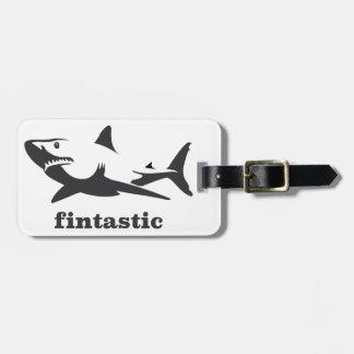 Haifisch - fintastic kofferanhänger