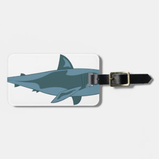 Haifisch Gepäckanhänger