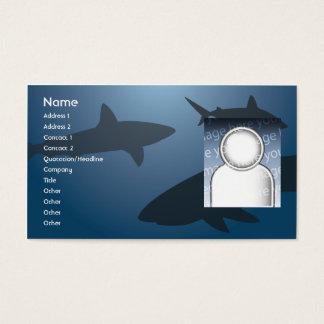 Haifisch - Geschäft Visitenkarten