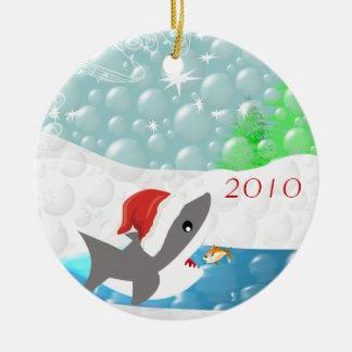 Haifisch in der keramik ornament