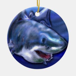 Haifisch Keramik Ornament