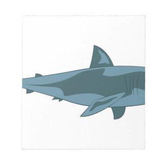 Haifisch Notizblock
