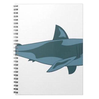 Haifisch Spiral Notizblock