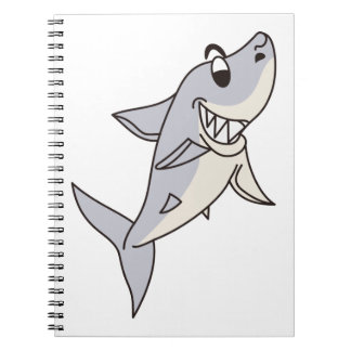 Haifisch Spiral Notizbücher