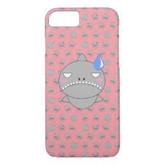 Haifisch und trauriges iPhone 8/7 hülle
