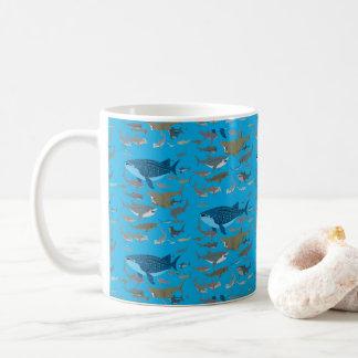 Haifische der Ozeane Tasse