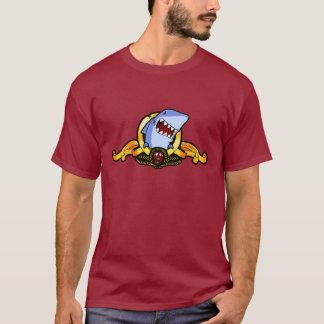 Haifische für Grund-T - Shirt der Haifische