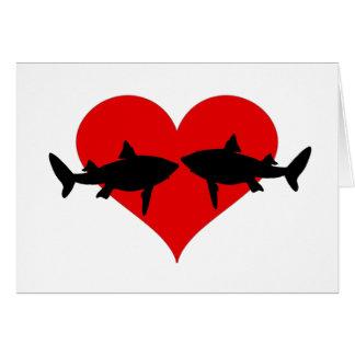 Haifische Karte