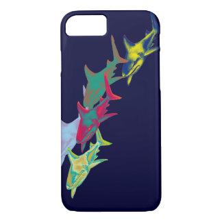 Haifischfische - wilde Tiere iPhone 8/7 Hülle