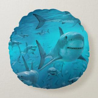 Haifischkissen Rundes Kissen