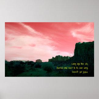 Haiku beraubt dennoch freudig poster