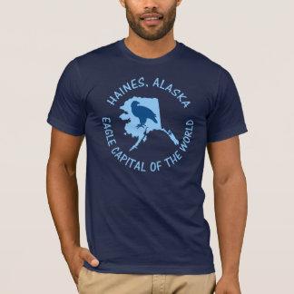 Haines, Alaska-Adler-Hauptstadt der Welt T-Shirt
