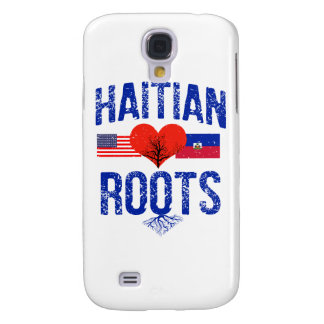 Haitianische Flaggenentwürfe Galaxy S4 Hülle