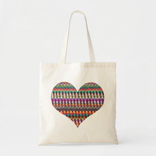 Häkelarbeit-Taschen-Tasche - Budget Stoffbeutel
