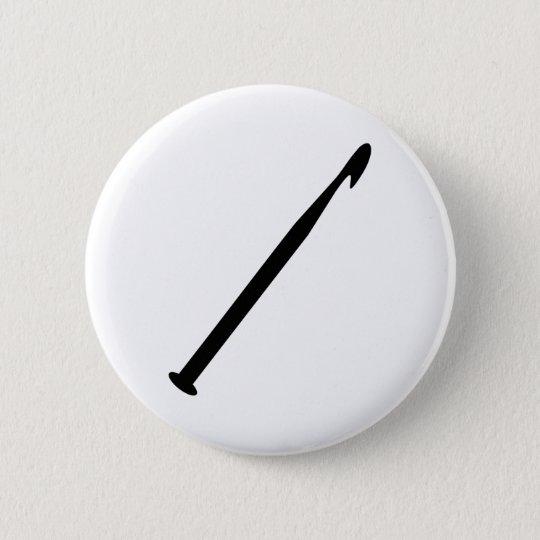 Häkelnadel Runder Button 5,7 Cm