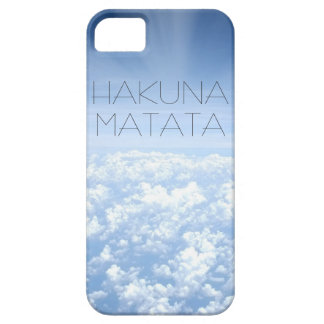 Hakuna Matata iphone 5 Abdeckung iPhone 5 Schutzhülle