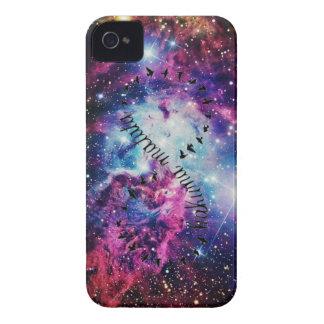 Hakuna Matata Unendlichkeits-Galaxie iPhone 4 4S F Case-Mate iPhone 4 Hülle