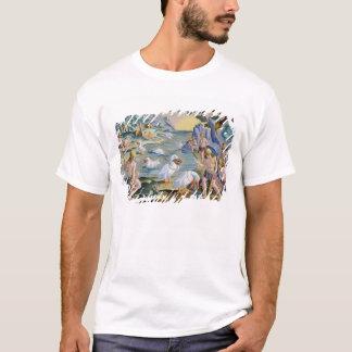 Halb-Nackte Savage von Indien unter Verwendung der T-Shirt