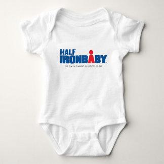Halber Eisen-Baby-Bodysuit Baby Strampler