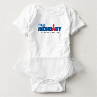 Halber Eisen-Baby-Bodysuit mit Ballettröckchen Baby Strampler